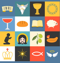 all about jesus vector image
