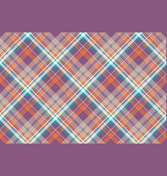 Abstract check plaid cotton texture seamless vector