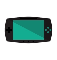 Game console portable play device vector