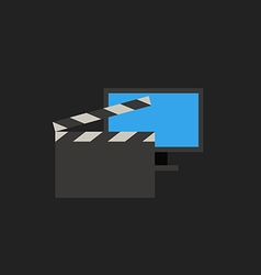 Modern video concept vector image