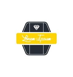 diamond jewelry vector image