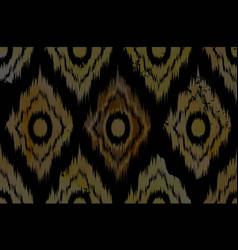 Vivid chevron zig zag watercolor pattern vector