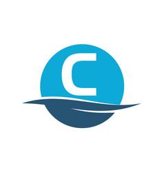 Wave water initial c vector