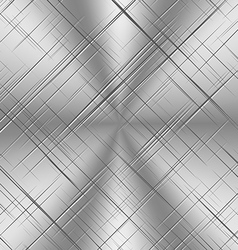 Scratched alluminum background vector