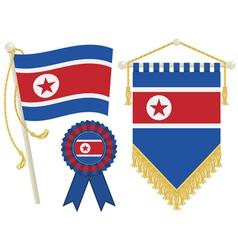 North korea vector