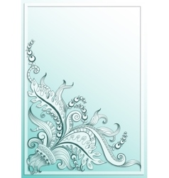 Frame with hand-drawing graphic sketch vector image