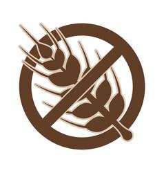gluten free food vector image vector image