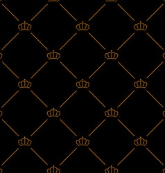 Luxury seamless pattern vector image vector image