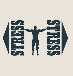 People in stress situations vector