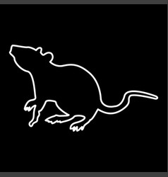 Rat it is icon vector