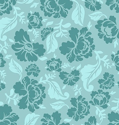 Floral seamless pattern Vintage ornament of rose vector image