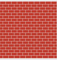 Brick pattern seamless brick wall background vector