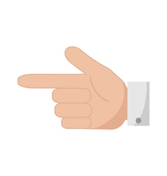 Forefinger icon vector