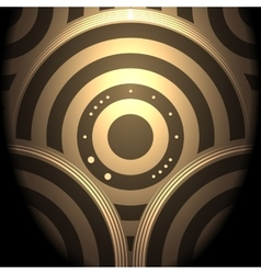 Abstract Circular Background vector image vector image