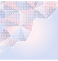 Abstract light rose and blue background vector