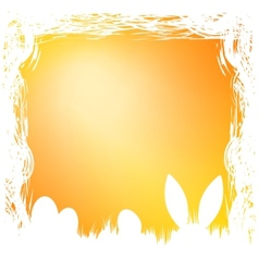 Happy easter card template EPS 8 vector image