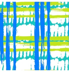 Pattern with wide brushstrokes and stripes in vector