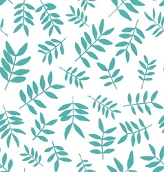 Background with branch silhouettes seamless vector