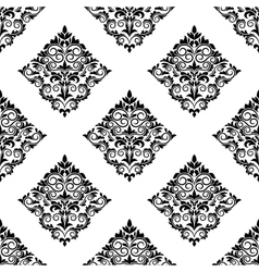 Geometric arabesque seamless pattern vector image