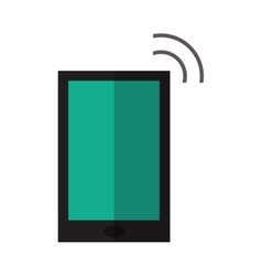 Smartphone internet connection digital device vector