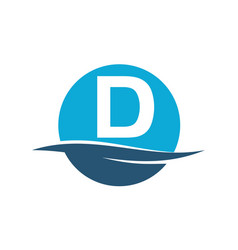 Wave water initial d vector