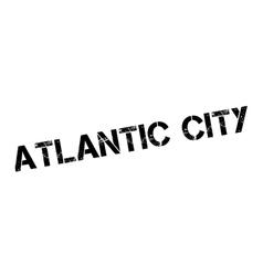 Atlantic city rubber stamp vector