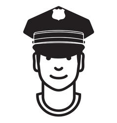 Avatar POLICEMAN1 vector image vector image