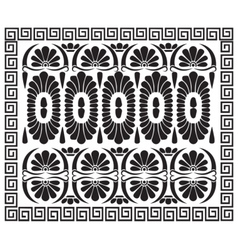 Greek pattern ornament vector