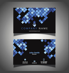 modern business card design vector image