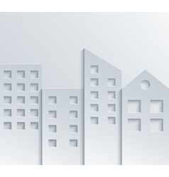 modern city background vector image