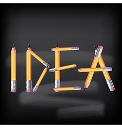 Idea concept vector image