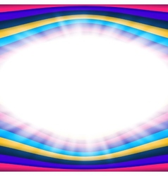 Abstract background with flare and color lines vector