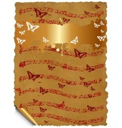 Craft Notes vector image vector image