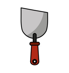 Spatula tool isolated icon vector