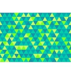 Retro triangle pattern gemtone sea vector