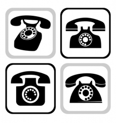 Telephone collection vector