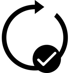 mobile smart phone auto-rotate icon vector image vector image