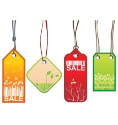 retail sale tags vector image vector image