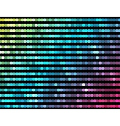 Abstract mosaic neon background 5 vector