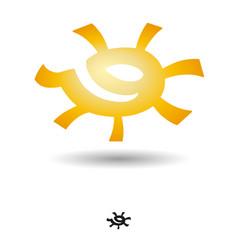Profile of the sun vector