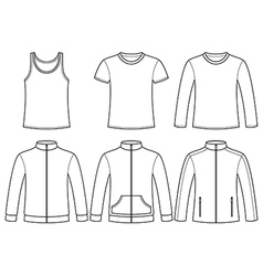 Singlet t-shirt long-sleeved t-shirt sweatshirts a vector