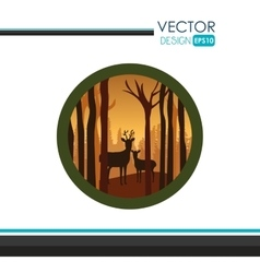 Nature icon design vector