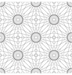 Beautiful thin line ornamental frame vector image vector image