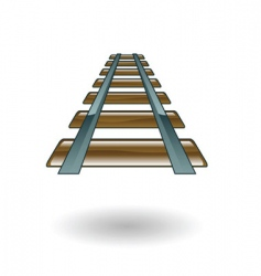 Rail illustration vector