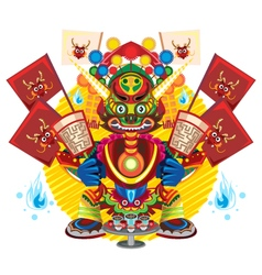 Hungry ghost day festival vector