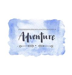 Motivaion poster adventure vector