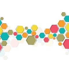Color molecular structure vector