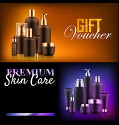 Premium beauty discount gift vector