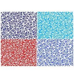 seamless set vector image vector image