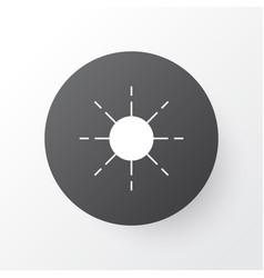 sunshine icon symbol premium quality isolated sun vector image vector image